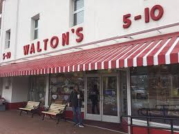 Outside The Original Walmart Store As Waltons 5 And 10 Picture Of
