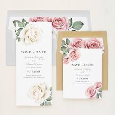 Save The Date For Wedding Casual Calligraphy Save The Dates