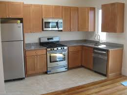 quality contractor bainbrook brown granite countertops and shaker cabinets