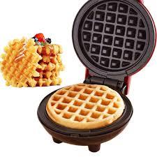 I cooked with a gas stove. Multifunction Mini Waffle Maker Electric Doughnut Ice Cream Cone Grill Cake Oven Pan Eggette Machine Plates Us Eu Plug Shopzal