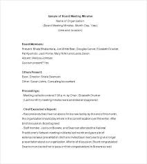 Microsoft Meeting Notes Template Board Meeting Template Word Agenda Microsoft Business