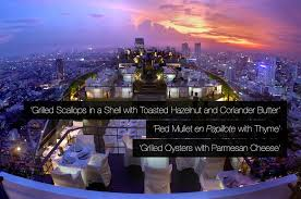 Vertigo Grill and Moon Bar, Bangkok | Luxury Hotels TravelPlusStyle