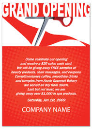 Grand Opening Postcards Marketing Postcards Keep In Touch Flyer Design Templates