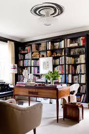 home office artwork. Home Office Decor Ideas Comic Artwork Better Decorating Bible Blog Built In Black Bookshelves
