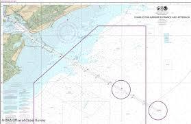 Charleston Nautical Chart Noaa Releases New Nautical Chart For Charleston Harbor