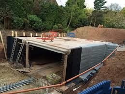 House With Underground Car Garage Residential Garages Cost