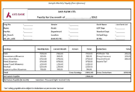sheet format 11 salary pay sheet format sales slip template