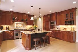 Small Picture Kitchen design ideas cherry cabinets kitchen traditional with