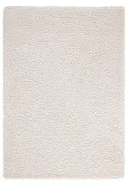 alluring red barrel studio craig high pile plain gy white rug reviews pertaining to alluring white