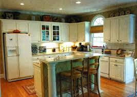 Small Picture Kitchen Remodel With White Appliances Home Design Ideas