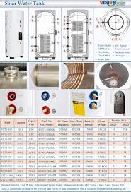 Hot Water Heater Accessories Pressurized Solar Hot Water Tank Hot Water Tank China