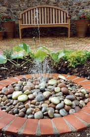 Pebble Garden Water Feature For The Yard Pinterest Water Features And Water