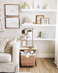10 Different Ways to Style Floating Shelves