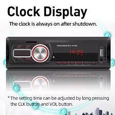 AUTO-DY Máy Nghe Nhạc MP3 Bluetooth Xe Hơi Thông Dụng 12V Đĩa U/Thẻ TF/Đài  FM Đài Phát Thanh Xe Stereo