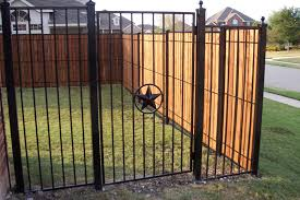 metal fence designs. Clever Wood And Wrought Iron Fence Designs Metal Modern  Woodmetal Metal Fence Designs