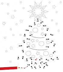 Dot to Dot  Christmas Tree