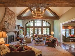 Amazing Stunning Grand Salon Rustic Interior Desi Rustic Interior Design  For The Living Room