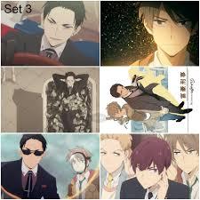 Bộ 6 Áp phích - Poster Anime Thám Tử Đại Gia - Fugou Keiji : Balance :  UNLIMITED (bóc dán) - A3, A4, A5