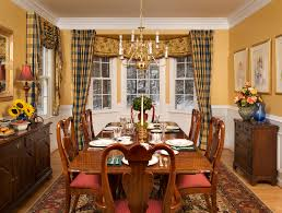 Glorious Oak Dining Table For 4 With White Homemade Dining Room Curtains ...