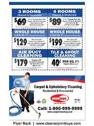 carpet cleaning flyer carpet cleaning flyer 8 5 x 5 5 c0006