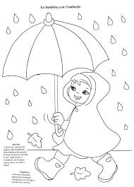 20 Ombrello Da Colorare Per Bambini Disegni Da Colorare