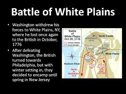 「Battle Of White Plains)」の画像検索結果