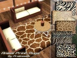 pralinesims animal print rugs cheetah print carpet animal print carpet for stairs