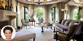 inside kris jenner s glorious redesigned los angeles mansion