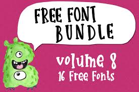 I am sharing a page of printable aceo/ atc size backgrounds. Free Font Bundle Vol 8 Bundle Creative Fabrica