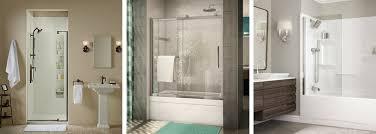 pivot sliding shower shield doors better baths