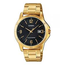 casio mtp vs02g 1a gold plated watch for men
