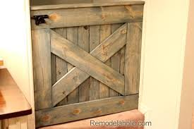 wooden safety gate pressure fit free plans barn door baby for stairs wood baby gates