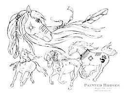 Free Color Sheets Horses Rodeo Coloring Pages Online Coloring Page
