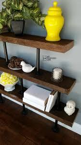 Industrial Fan Coffee Table Diy Industrial Shelf My Repurposed Life
