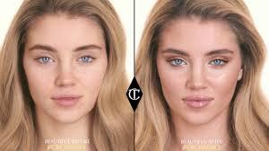 the ultimate beach holiday glowing skin makeup tutorial charlotte tilbury