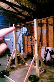 diy pull up station freestanding pull up bar