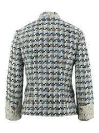 Dolce And Gabbana Jacket Size Chart Dolce Gabbana Tweed Lace Trimmed Jacket