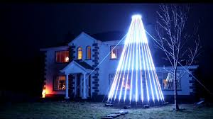 Wow Lights Mega Tree 2400 Pixel Megatree Rather Large Christmas Decoration