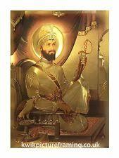 guru gobind singh ji sikh gurus photo picture frames framed 16 x 12