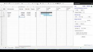 Work Breakdown Structure Vs Gantt Chart Project Management Using Google Sheets For Wbs Breakdown And Gantt Chart