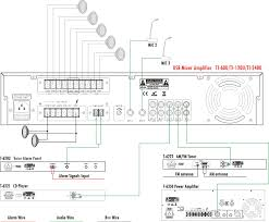 pa system professional power audio stereo usb mixer amplifier 100v line amplifier at 100v Speaker Wiring Diagram