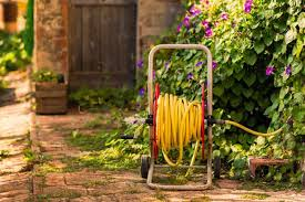 garden hose storage options