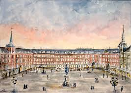 plaza mayor madrid by lauramss