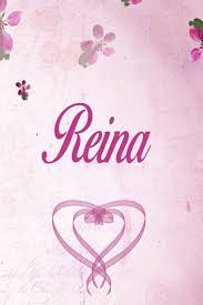 Floral Design By Reina Reina Personalized Name Notebook Journal Gift For Women