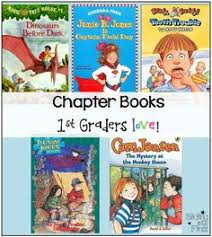 chapter books 1st graders love first grade