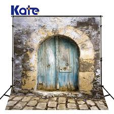 kate 5x7ft old door stone photography backgrounds stone floor outside photography scenic backdrops children background
