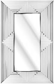 large abstract art deco wall mirror