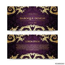 Fancy Flyers French Baroque Elegant Ornate Flyers Luxurious Gold