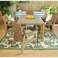 dining chair cushions target. Manchester 7 Piece Outdoor Dining Set Safl05000 Boutiqify . Chair Cushions Target