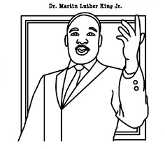 Small Picture martin luther king color pages 100 images free printable
